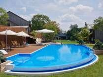 2012年7月にOPEN!贅沢なガーデンプールで優雅なひとときを。※ガーデンプールは夏季限定です。の画像