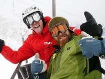 白馬でスキー・スノボ☆ホテルから無料送迎ですぐ!の画像