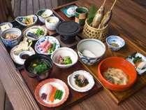 採れたての山菜と野菜を中心とした『白馬 山の和食コース』で春をお届け♪の画像
