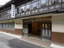 *創業明治14年。当時の造りをそのまま残す老舗旅館です