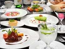 ご夕食 フランス料理フルコース 春メニューの 一例