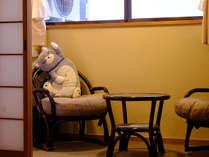 【朝・夕食付】★地鶏焼き定食を食べたら 温泉をのんびり堪能出来るニャンプラン★