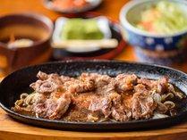 ●夕食:『焼肉定食』