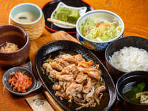 ●夕食:『地鶏定食』