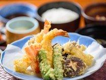 【朝・夕食付】★天ぷら定食を食べたら 温泉をのんびり堪能出来るニャンプラン