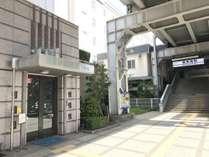 新馬場駅より徒歩30秒!