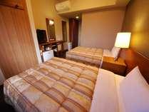 ◇ツインルーム◇客室面積約16㎡ 120㎝幅ベッド 《平成28年12月改装》