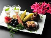 記念日の特典は華やかなアニバーサリーフルーツをどうぞ