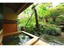 【桂の間】露天風呂からの眺め