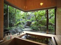 【温泉檜風呂付き】専用庭園を眺める離れ風客室で、優雅なひと時を―【2食付き/朝夕お部屋食】