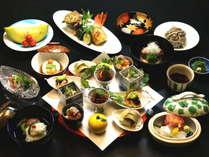 ■「ご夕食」懐石料理の一例