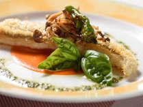●フレンチ一例:甘鯛のうろこ焼き