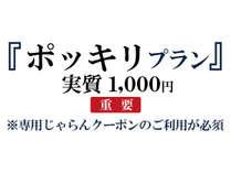1000円ポッキリプラン