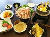 *竹コース/当館大人気の『季節の釜めし』もついてます♪