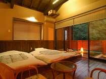 専用露天風呂付客室和室例