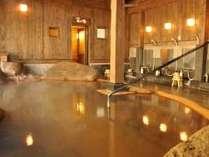 【内風呂】ナトリウム-塩化物泉は体の芯からポカポカに(23時迄、朝は6時から)