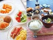 ご宿泊のお客様には和洋の朝食バイキングを無料サービス致します♪