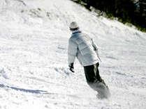 *ウィンターシーズンの楽しみといえばやっぱりスキー&スノボ!