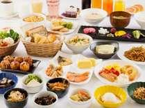 種類豊富な和洋バイキング朝食で私だけの朝ごはん※イメージ