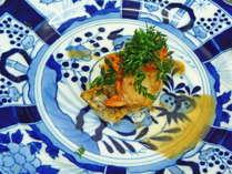 【一泊二食付き】お肉が苦手な方へ◆お箸で頂くフレンチ・旬のお魚コースプラン◆