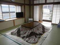 冬の客室です。