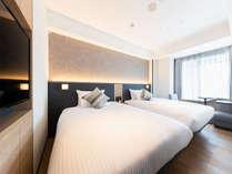 【客室】スーペリアツイン/ソファ・・部屋広さ…20㎡・宿泊人数…1~2名・ベッド幅…120cm