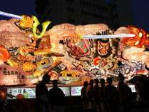 【世界の火祭り・青森ねぶた祭りを見よう!】★2018年ねぶた祭り朝食付・特別プラン《限定商品》