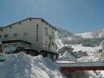 スキー場徒歩30秒