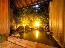 雰囲気のよい貸切風呂