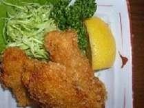 【じゃらん限定】牛窓産大粒カキフライ&青島風ミニあなご飯付会席プラン