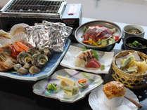 ☆旬の味覚~浜会席グルメプラン~海の新鮮素材を直火で召し上って頂きます!