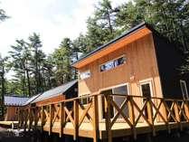 一棟貸し切りのコテージ型宿泊施設です