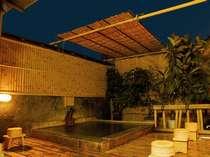 【屋上露天風呂】開放感のある露天風呂。湯上りにはお肌しっとりツルツル。別府温泉をお楽しみ下さいませ。