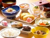【朝食】朝食の和定食
