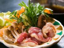 ◆大分の地どり鍋◆大分発の新グルメ!味わい深いウマさの地鶏をハフハフお鍋で♪