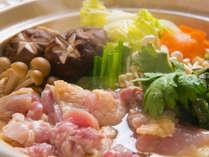 ◆大分の地どり鍋◆大分発の新グルメ!味わい深いウマさの地鶏をハフハフ♪
