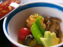 ◆食材そのものの味を活かした、優しい美味しさ