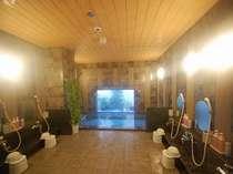 男女別ラジウム人工温泉大浴場「旅人の湯」※写真は男性用。利用時間15:00~2:00・5:00~10:00