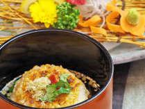 *鮎シーズン以外の〆のメニューはご飯を使った変米料理を! お茶漬け等色々変わります。