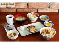 日替り朝食セットメニュー【和食】バランスの良い食事で一日の始まりをサポート☆