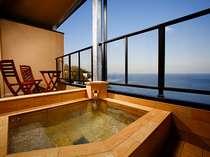 【じゃらん限定直前割】 -最安値- お二人で最大9,000円OFF   海の見える露天風呂付客室&ご夕食はお部屋で