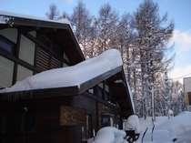 吹雪の翌朝