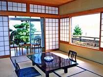 日本海を一望する絶景のお部屋です