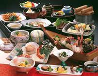 羽衣プラン ※料理写真は夕食の一例です