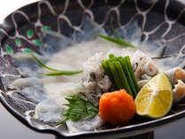 透き通るような淡路島3年とらふぐの「てっさ」≪料理イメージ≫