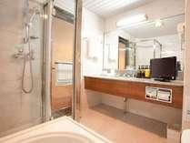 シャワーブース付、ワンランク上のバスタイムをおすごしください。