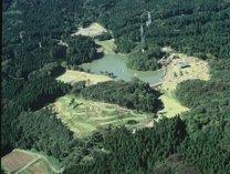 *【天湖森全景】土田池を中心とした広大な敷地内に様々な設備がございます