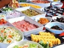 大人気♪♪の朝食ビュッフェ、おなかいっぱい食べて下さい。
