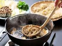 冬季限定「とうじそば」冬ならではの郷土料理をお愉しみください。