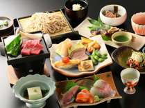 善兵衛一番人気【選べる主菜料理】お好みでメニューが選べて大好評!〆には手打ち蕎麦もございます。